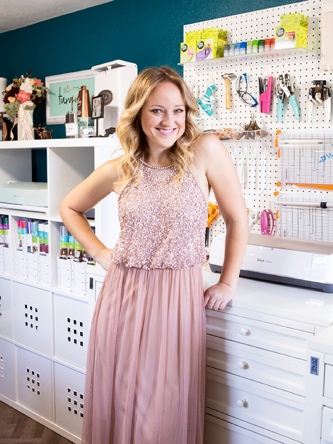 Jen Causey, found of Something Turquoise and her new Craft Studio space!
