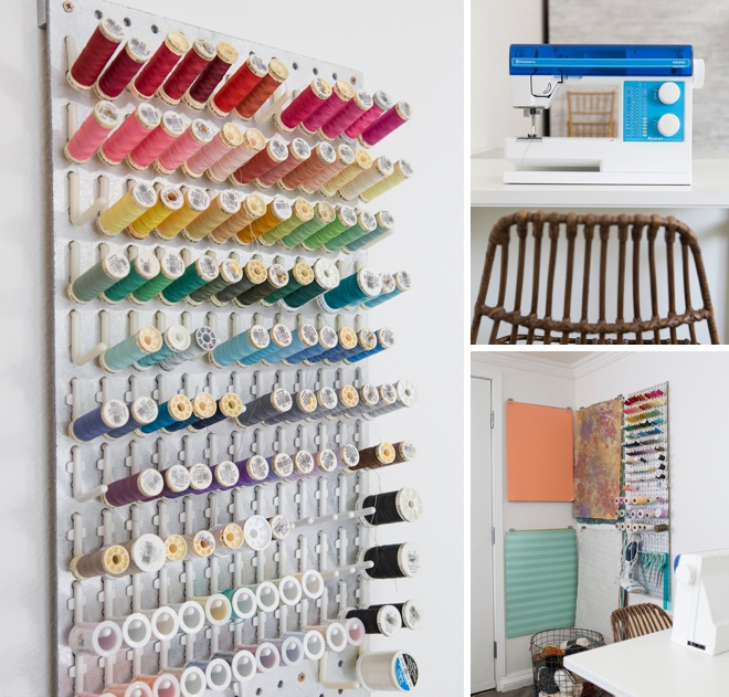 Wow, this is a dream craft room!