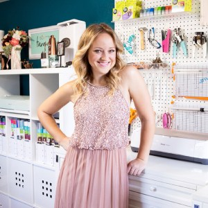 Jen Causey, the founder of Something Turquoise