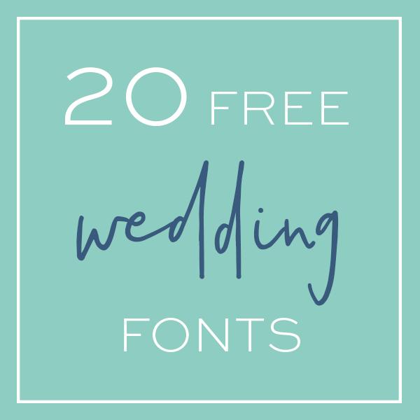 free wedding fonts # 57