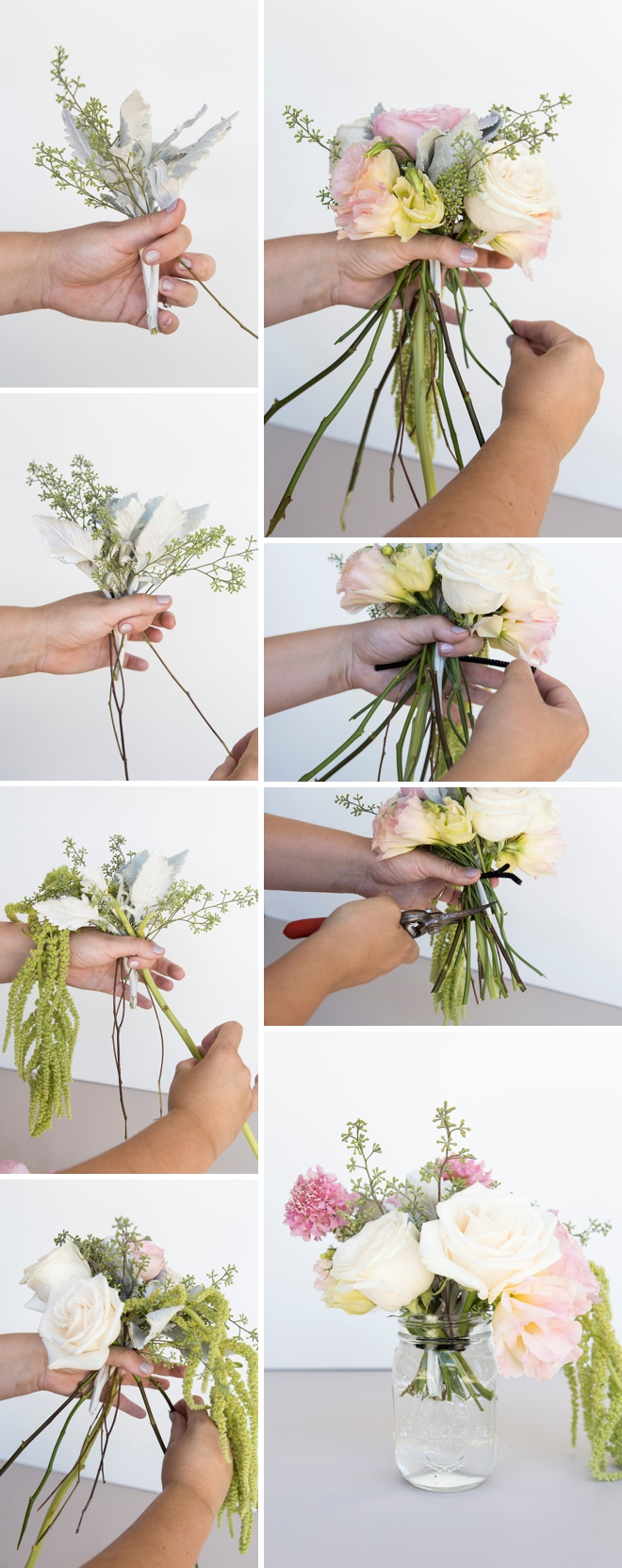 Learn how to arrange your own centerpiece bouquets!