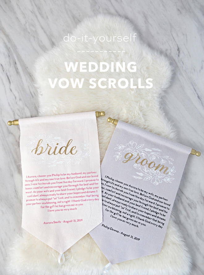 wow these diy vow