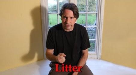 Litter!  Everywhere Litter!  A Rant.