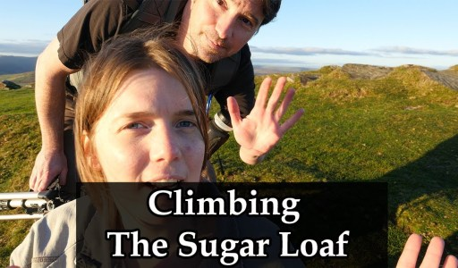 Climbing, Not Eating, The Sugar Loaf – Delicious.
