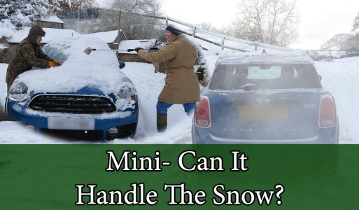 Mini All 4 – Can It Handle The Snow?