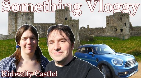 KIDWELLY CASTLE! A Mini Road Trip to a Smashing Welsh Ruin.