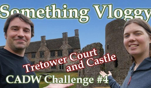 Tretower Court and Castle CADW Challenge #4