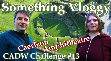 Caerleon Amphitheatre – 2000 Year Old Roman Remains In Wales – CADW Challenge #13