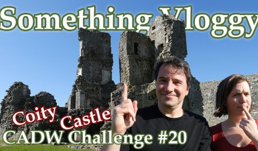 Coity Castle – Where Did All That Stone Go? – CADW Challenge #20