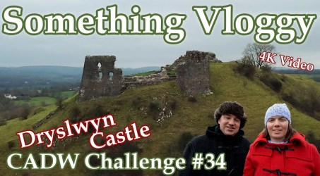 Dryslwyn Castle – A Native Welsh Castle Overlooking The River Towy – CADW Challenge #33