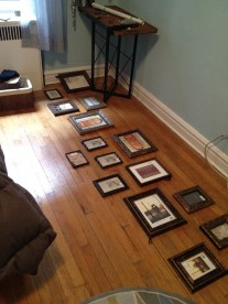 Laying out the plan for a gallery wall (somethingwewhippedup.com)