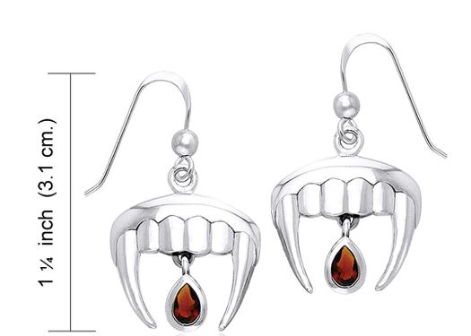 ampire Teeth Drop Earrings