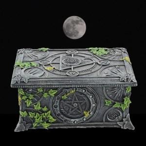 Pentagram tarot box