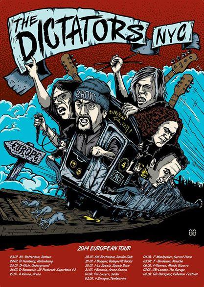 the dictators tour