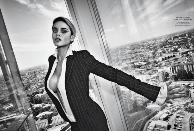 Elle Brittain for Vanity Fair Italia