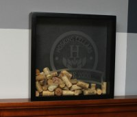 Wine Cork Holder Shadow Box