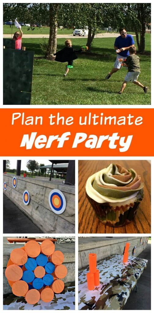 The Ultimate Nerf Battle Birthday Party Sometimes Homemade