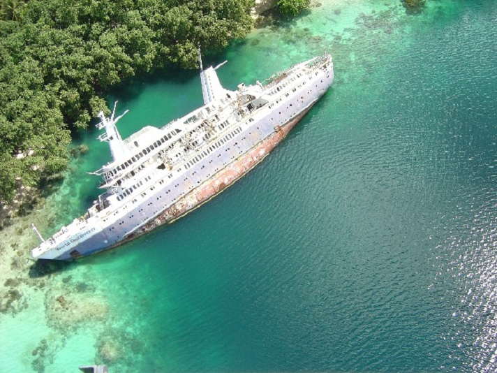 shipwrecked world discoverer cruise