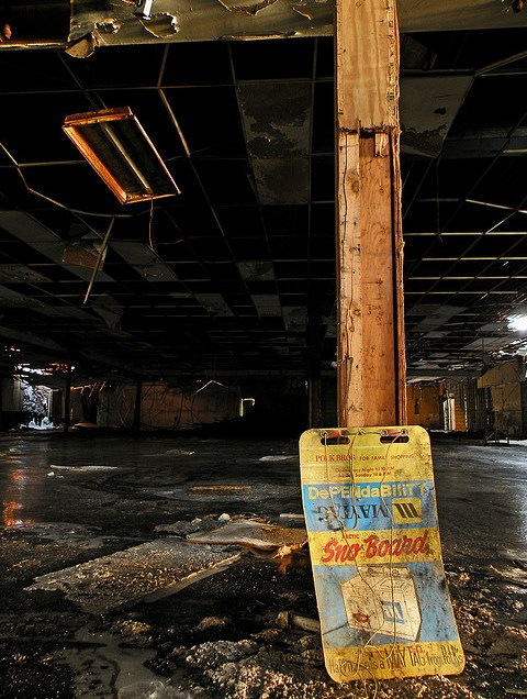 Abandoned Dixie Square Mall Sometimes Interesting