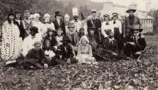 1921 Halloween at Pressmen's Home