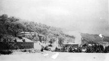 1921 snow scene at Pressmen's Home