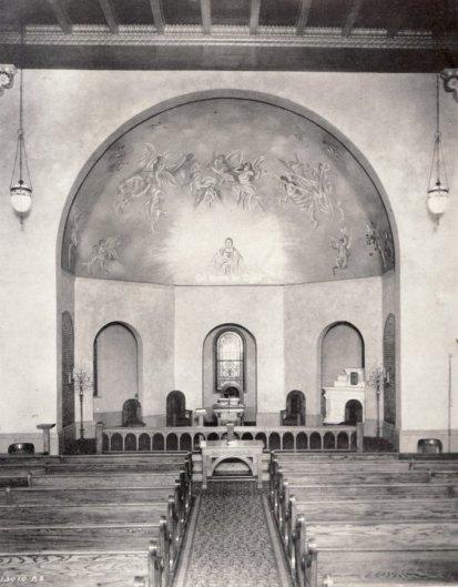 Inside Pressmen's Home Memorial Chapel