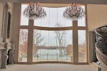 the grandest living room view of Lake St. Louis