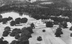 Aerial view of Lea Park Manor