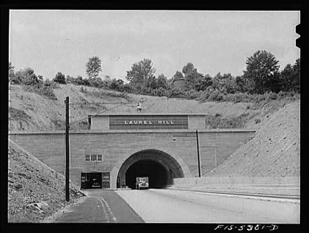 Laurel Hill Tunnel, circa 1942