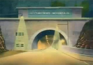 PT's Kittatinny Tunnel entrance design