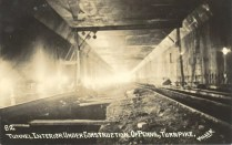 PT tunnel construction, circa 1938