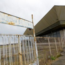 Abandoned Abkhazia airport