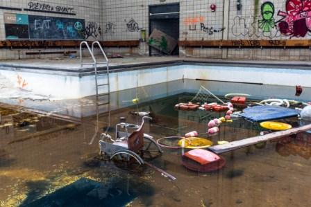 Hudson River State Hospital Snow Rehabilitation Center pool