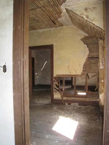 Swannanoa outbuilding interior