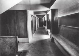 The hallways of the Grand Hotel on Lopud exemplified Dobrovic's efficiency of space.
