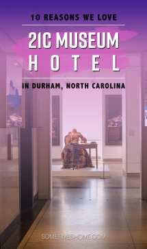 21C Museum Hotel Durham NC