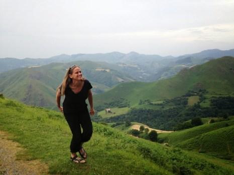 Elissa in Pyrenees