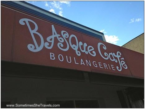 Annadel: Basque Café