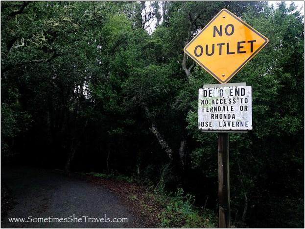 No Outlet / Dead End