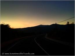 Looking east back toward Molinaseca..