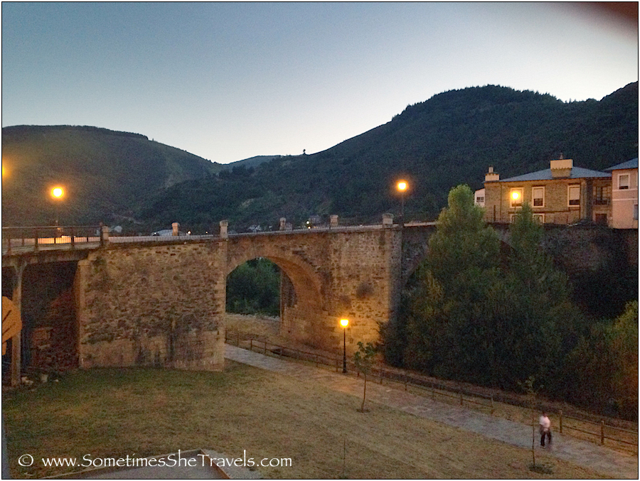 The bridge in Villafranca