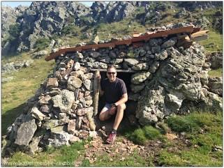 Day 2 hermit stone hut Adolfo