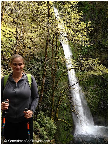 Elissa at Tunnel Falls