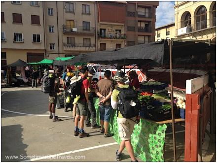 Camino de Santiago: Market Day in Viana