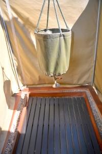 Botswana bucket shower