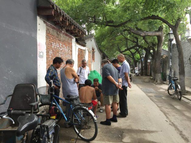 Hutong Beijing card games