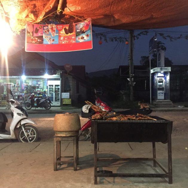 Barbecue, Vang Vieng, Laos
