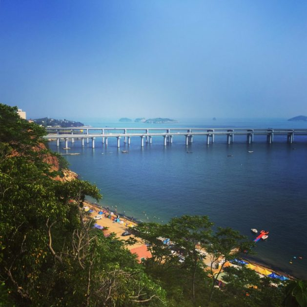 View from Binhai Road