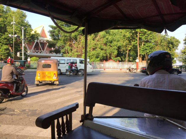 Indian autorickshaw, Phnom Penh