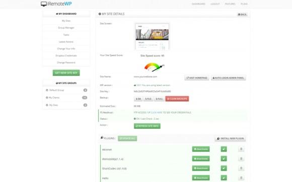 iRemoteWP-WordPress-Control-Plugin